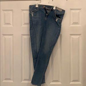 Rag& bone mid wash jeans